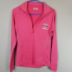 NKU Pink Under Armour Pullover Sz Small